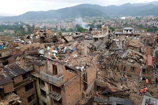 Séisme à Kathmandu