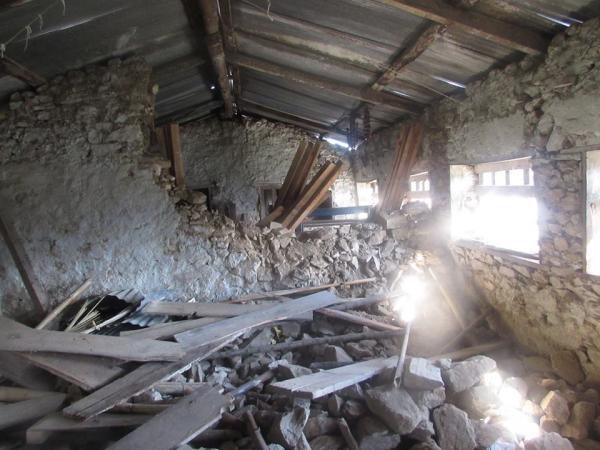 Habitation détruite