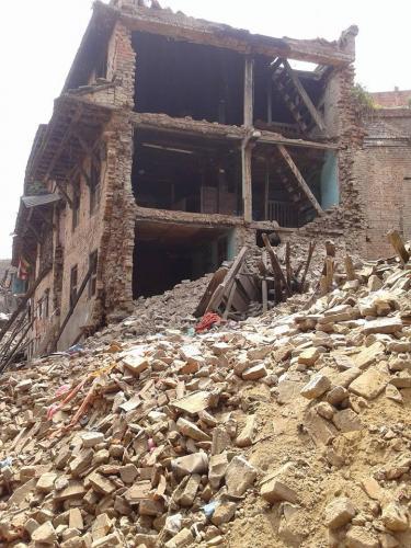 Les maisons en briques sont les plus touchées